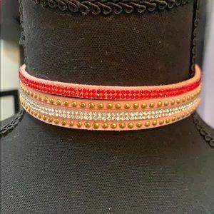 Jewelry - Pink adjustable choker